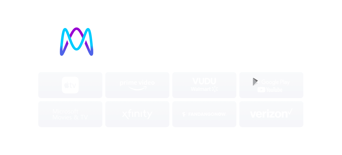 iTunes, Prime Video, Vudu, Xfinity, Google Play/YouTube, Microsoft Movies & TV, FandangoNOW, Verizon